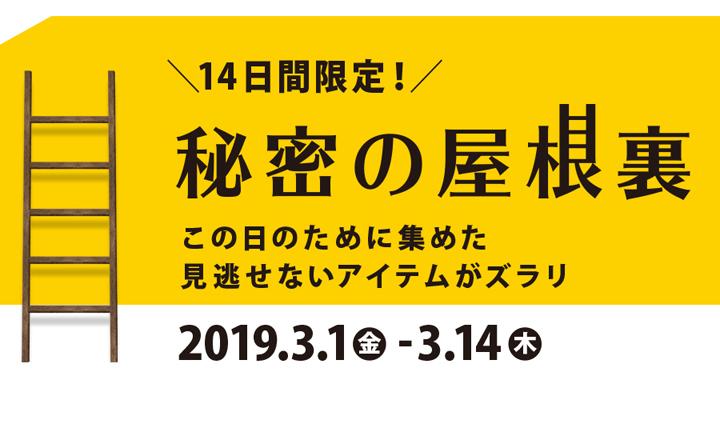 3月1日(金)スタート!ネットストアのお祭り