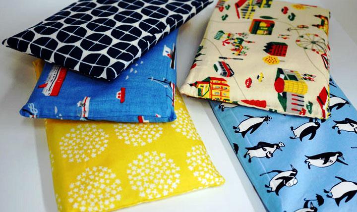 サマータイムの専用枕をチョイス