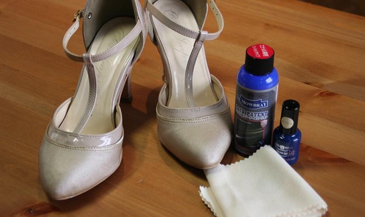 エナメル靴の楽ちんお手入れ方法