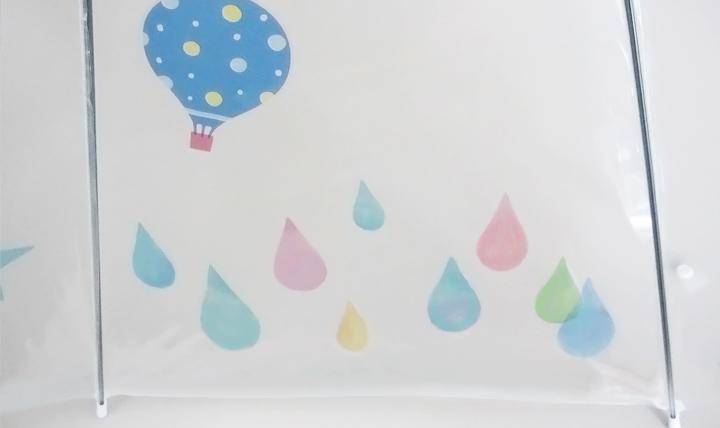 ビニール傘をデコるシール&マーカー
