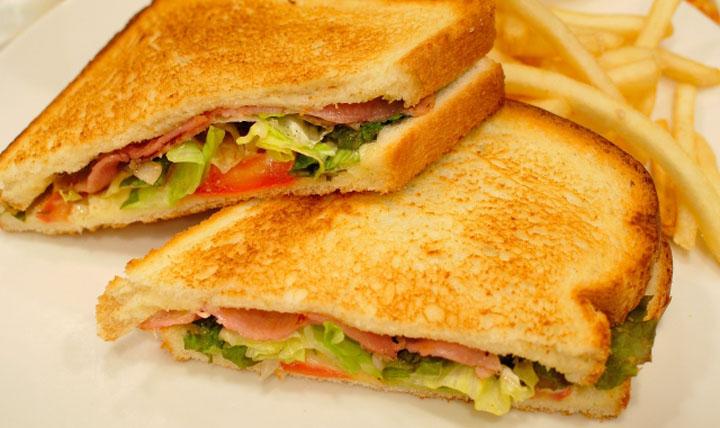 サンドイッチのイメチェン!パンの切り方