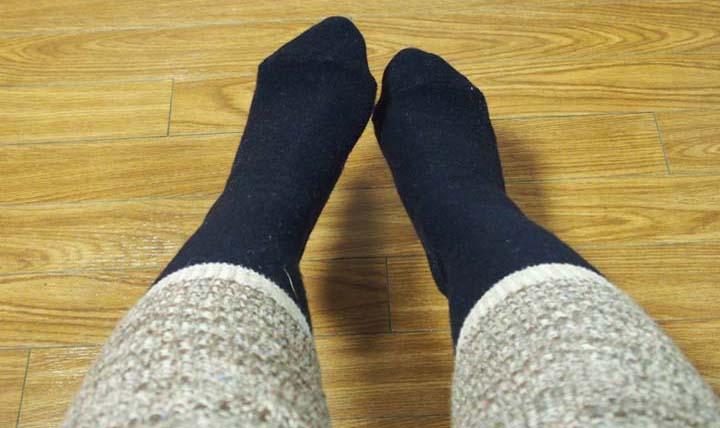 ~羊毛インソールで冬でも快適な歩行を~