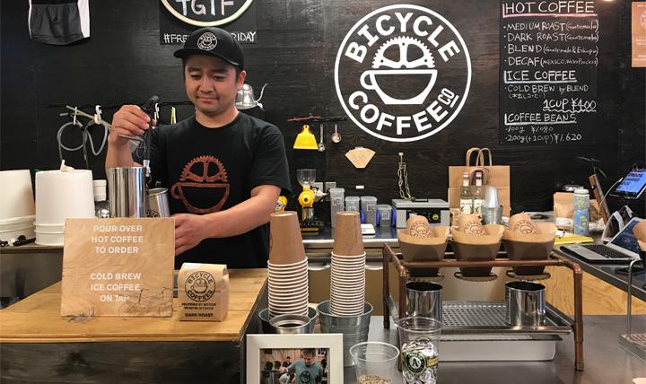 焙煎したてのコーヒーを自転車でお届けします!