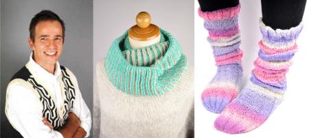 ベルンド・ケストラーさんの編み物ワークショップ