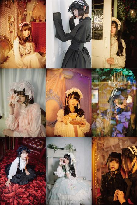 "IDOL FILE PHOTO EXHIBITION ""LOLITA & GOTHIC"" PHOTOGRAPHED BY KAORI OMOTANI"
