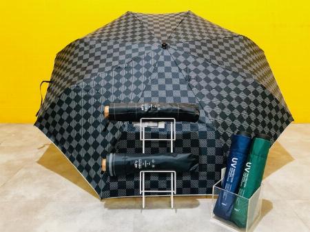 ユニセックス晴雨兼用傘