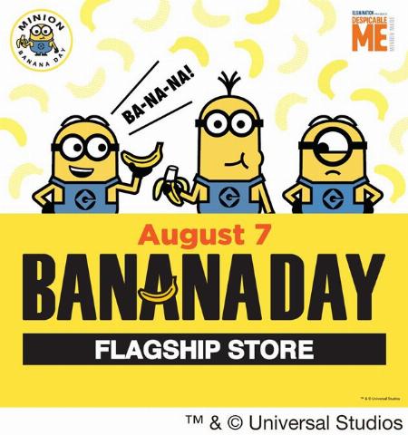【予告】MINION BANANA DAY Flagship Store